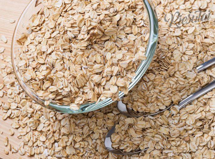 Kviečių dribsniai 1kg