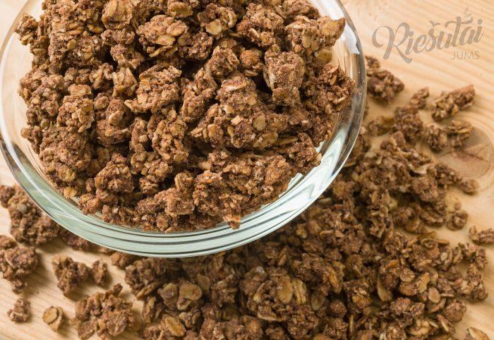 Dribsniai Granola su šokoladu 1kg
