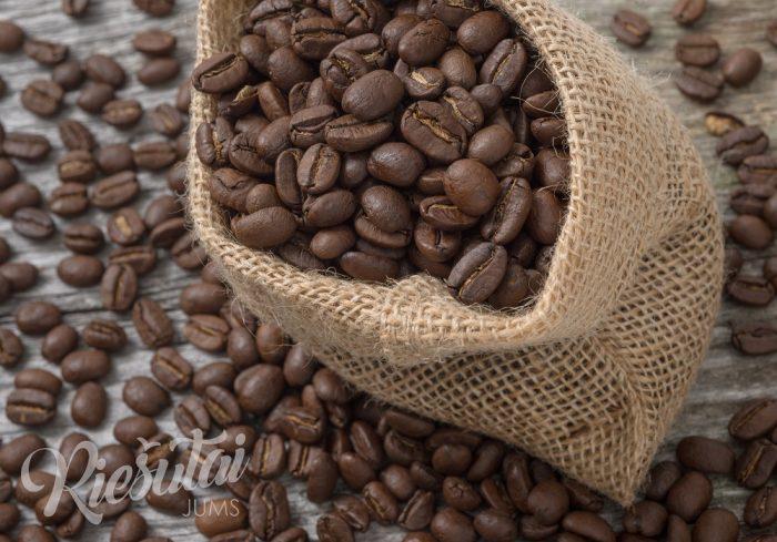 Skrudintos kavos pupelės Brazil Sul de Minas NY2 1kg