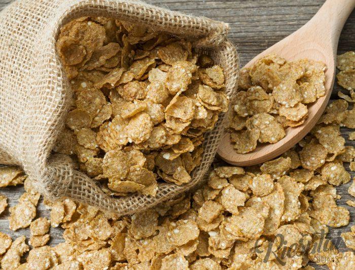 Kukurūzų dribsniai su medumi 0.5kg