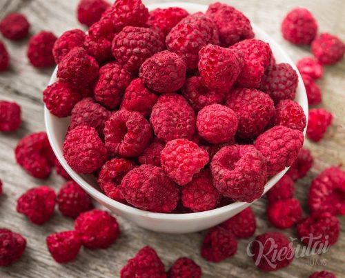 Liofilizuoti vaisiai ir uogos