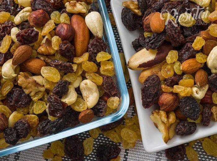 Džiovintų vaisių ir riešutų mišinys Studentiškas 1kg