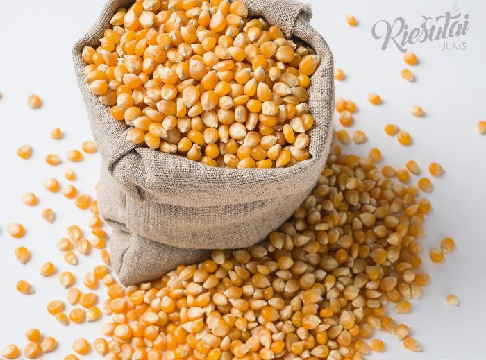 Kukurūzai spragėsiams 1kg