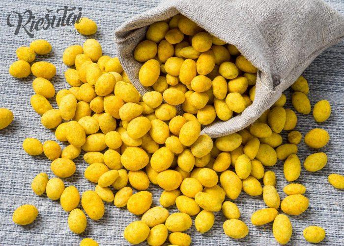 Žemės riešutai apvalkale svogūnų skonio 1kg