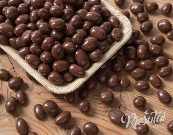 Žemės riešutai pieniškame šokolade 1kg
