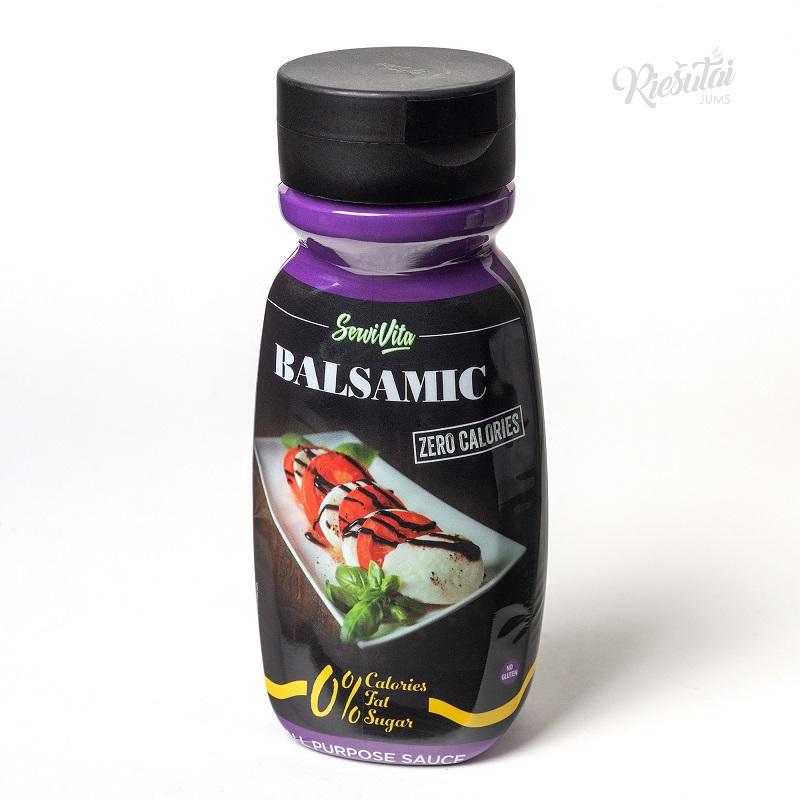 """Balzamiko padažas SERVIVITA """"0 kalorijų"""", 320 ml"""